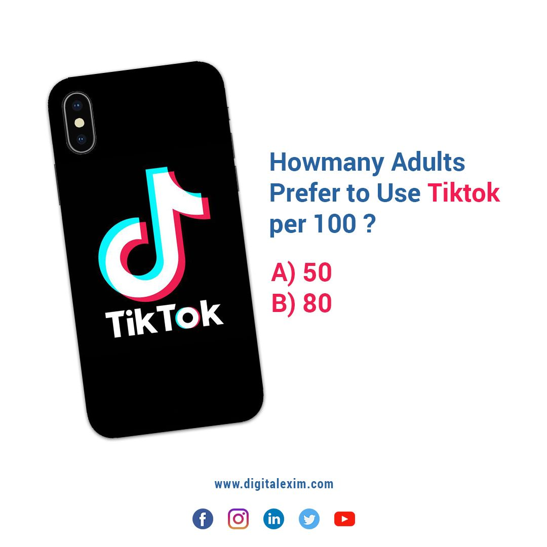 Let S See How Much You Know Tiktok Just Answer This Simple Question Below Tiktok Digitalp Digital News Video Marketing Digital Marketing Company