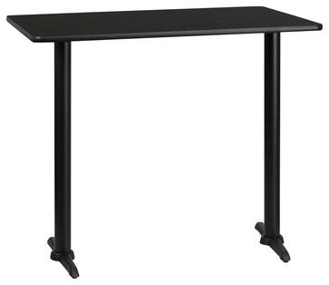 Flash Furniture 30 Inch X 60 Inch Rectangular Bar Table   Traditional    Indoor Pub And