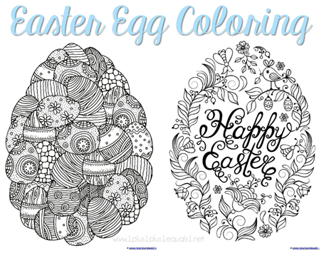 Easter Egg Coloring Pages Coloring Easter Eggs Easter Egg Coloring Pages Egg Coloring Page