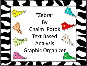 Zebra by chaim potok text analysis graphic organizer writing zebra by chaim potok text analysis graphic organizer fandeluxe Gallery