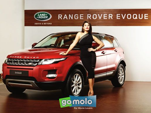 new car launches in puneJacqueline Fernandez at the Launch of new car Range Rover Evoque