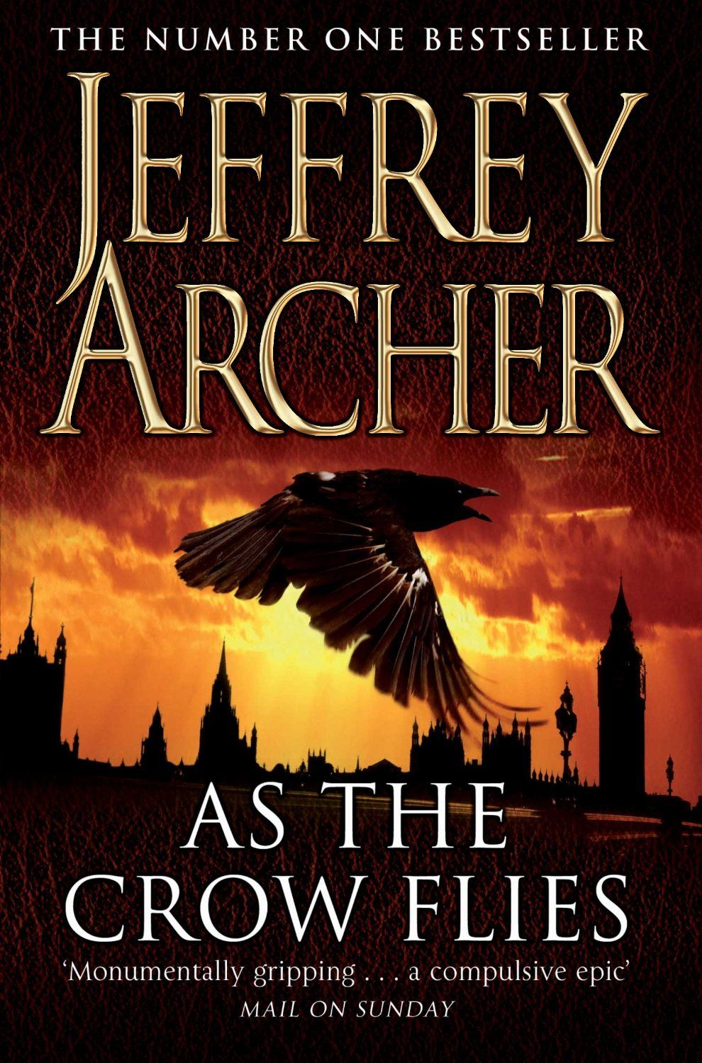 Jeffrey Archer Libros As The Crow Flies