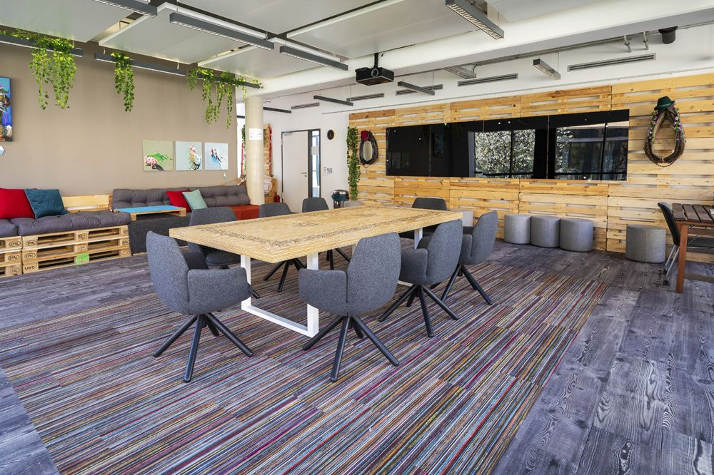 Looking To Create A Unique Office Space Let Us Help You Choose The Office Flooring Materials That Will Gorgeous Flooring Unique Office Spaces Flooring Options