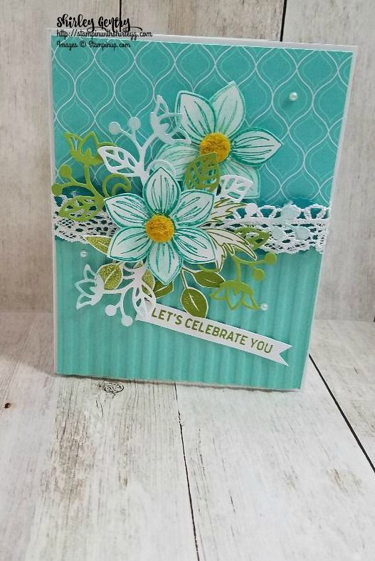 Stampin' Up Floral Essence – Stampin with Shirley G | Carte