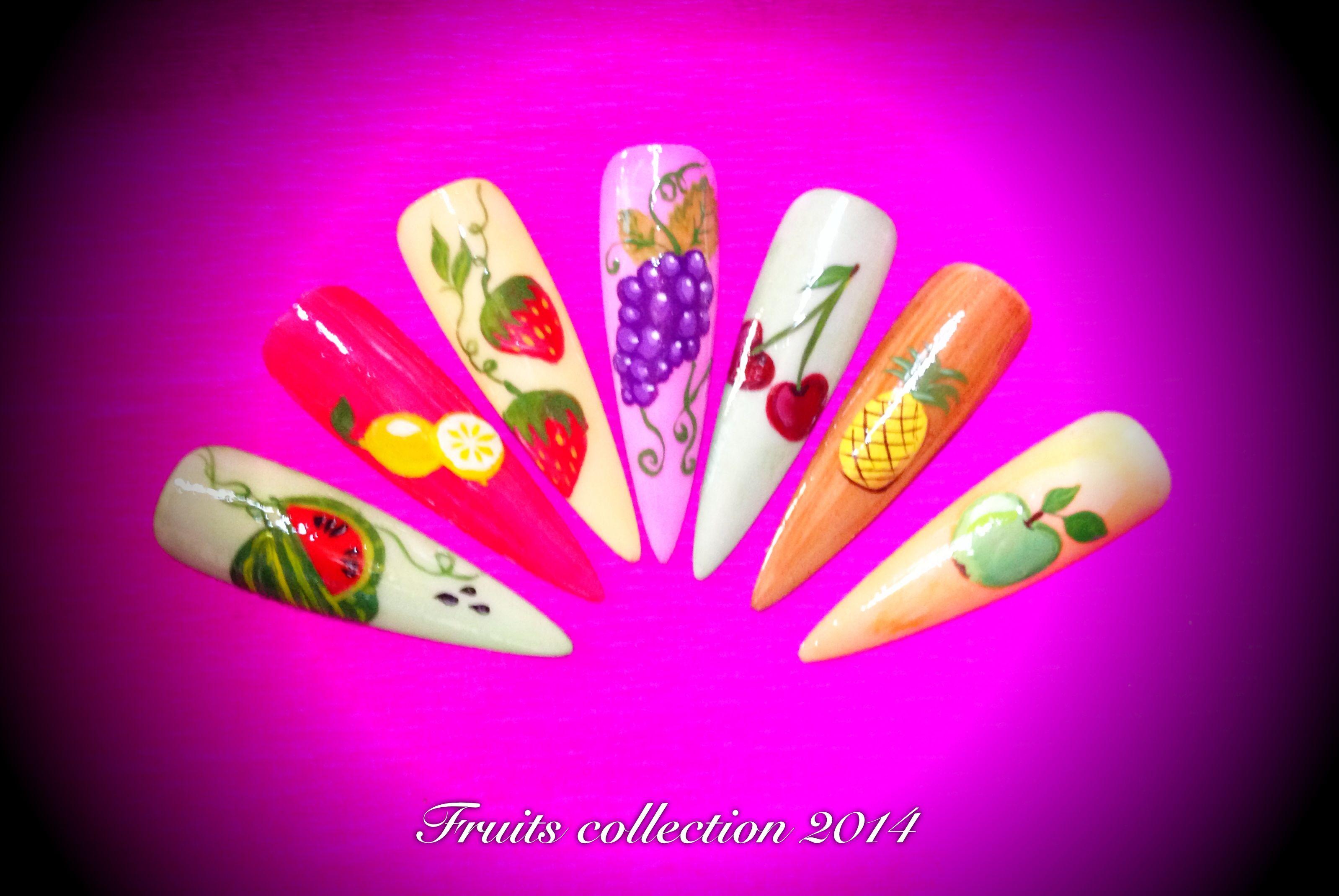 Pintura a mano alzada | Diseños de uñas, Uñas manos, Uñas