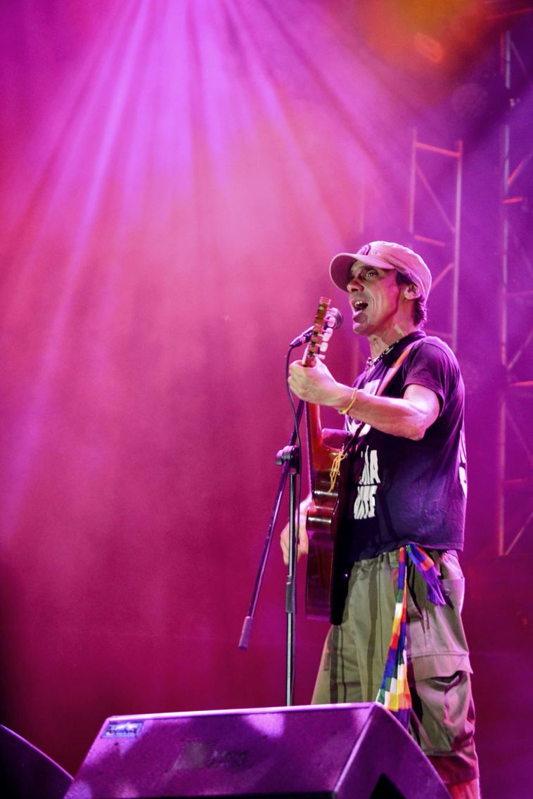 Manu Chao - la ventura. Bogotá