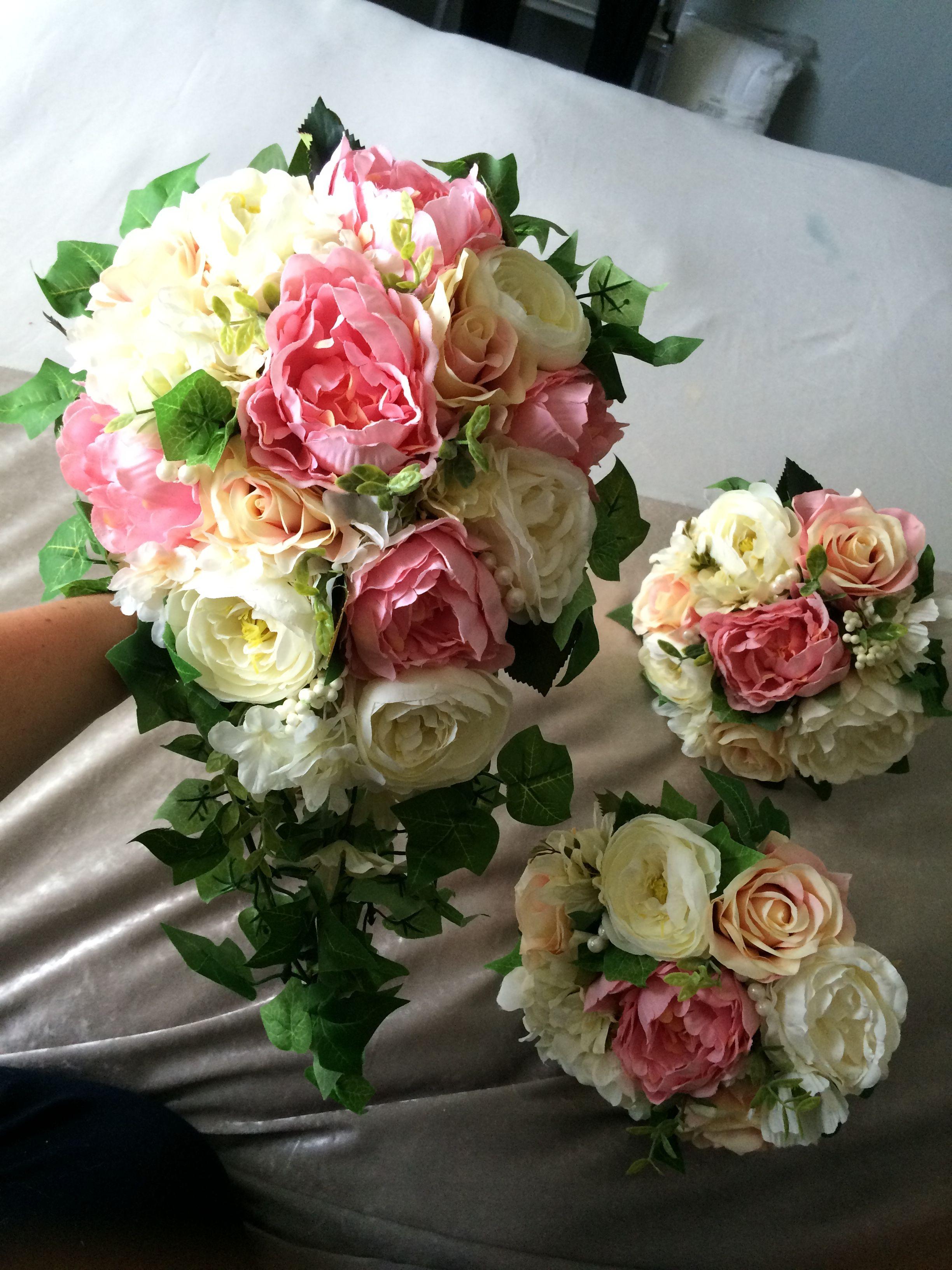 Silk Wedding Flowers Other Wedding Bouquets Pinterest Silk