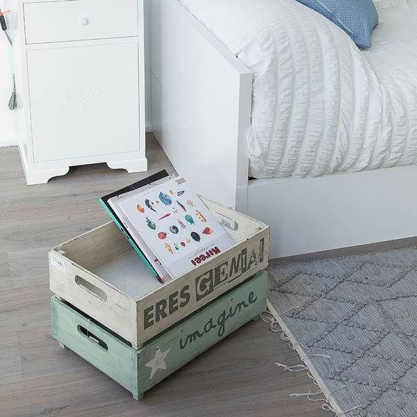Ideas para decorar una habitaci n infantil con estilo for Caja almacenaje infantil