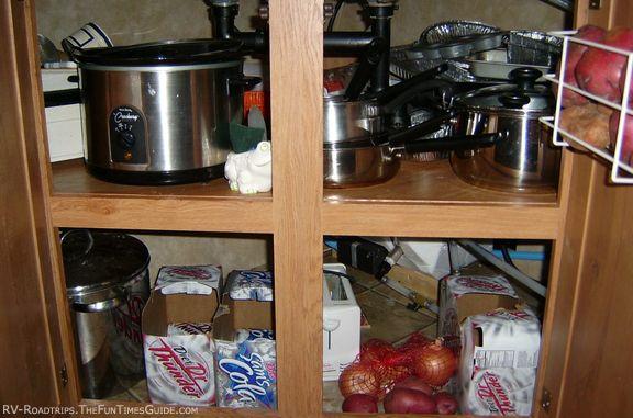 Equipping Your Rv Kitchen Tips For Storage Organization Aboard Rhpinterest: Rv Accessories Kitchen At Home Improvement Advice
