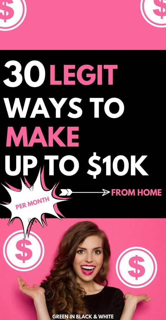 30 Amazing Ways to Make Money from Home