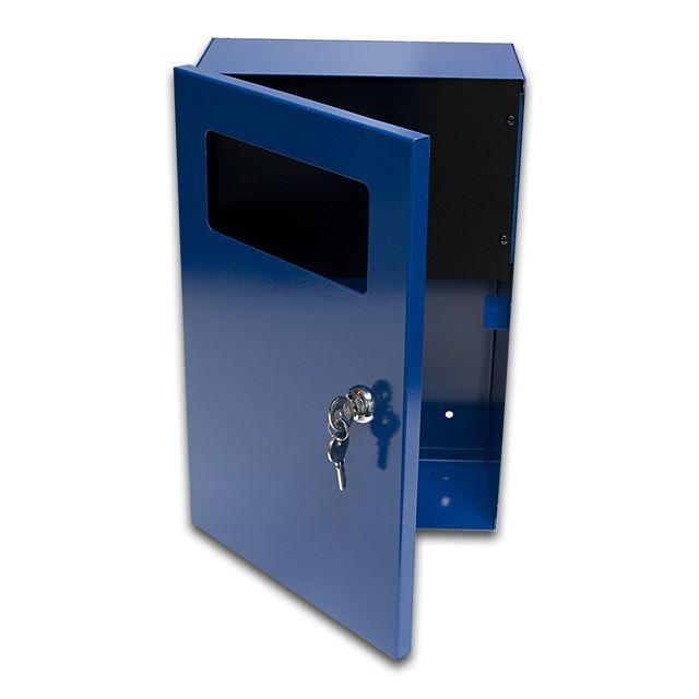 Sb1383a 8 X13x X4 Wall Mount Alarm Locking Box Electrical Enclosure Cabinet