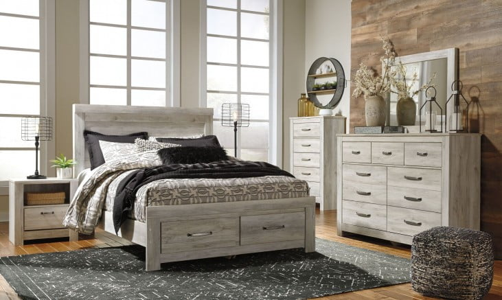 Bellaby White Storage Panel Bedroom Set (With images