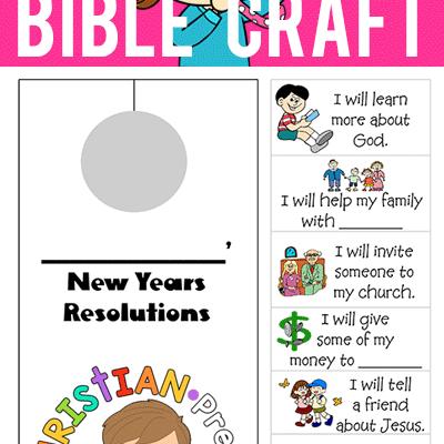 New Year S Bible Craft Holiday Ideas Pinterest Sunday School