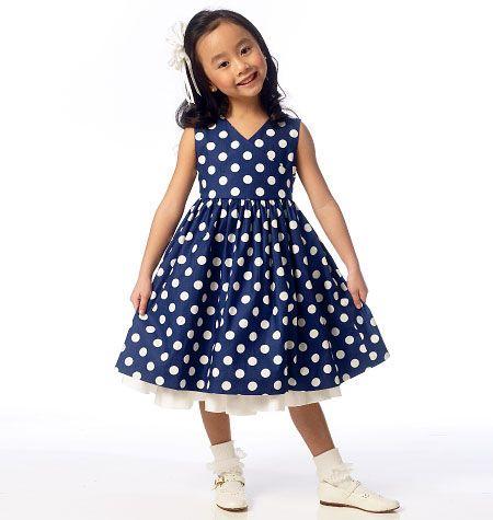 Butterick Child Dress – B6046