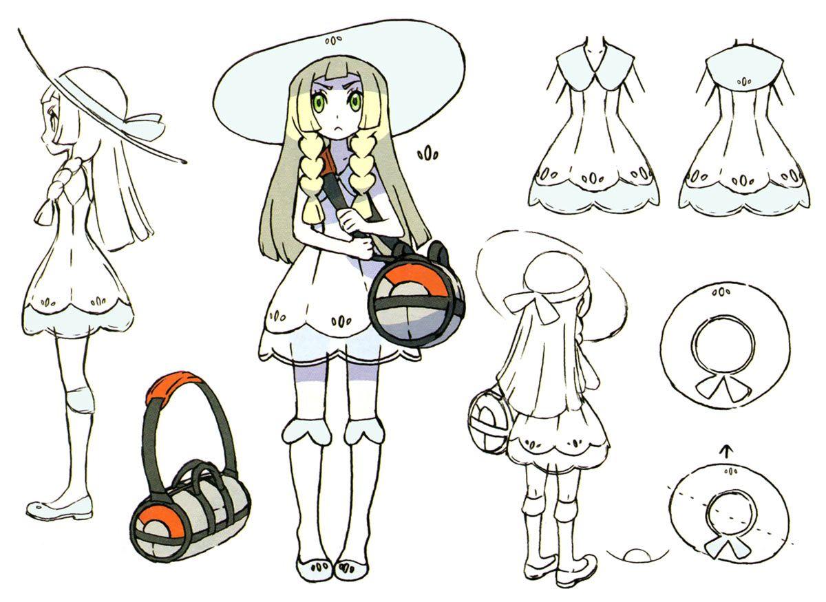 Lillie Concept Art from Pokémon Sun and Moon #art #artwork #gaming  #videogames #gamer #gameart #conceptart…   Concept art characters, Concept  art books, Pokemon art
