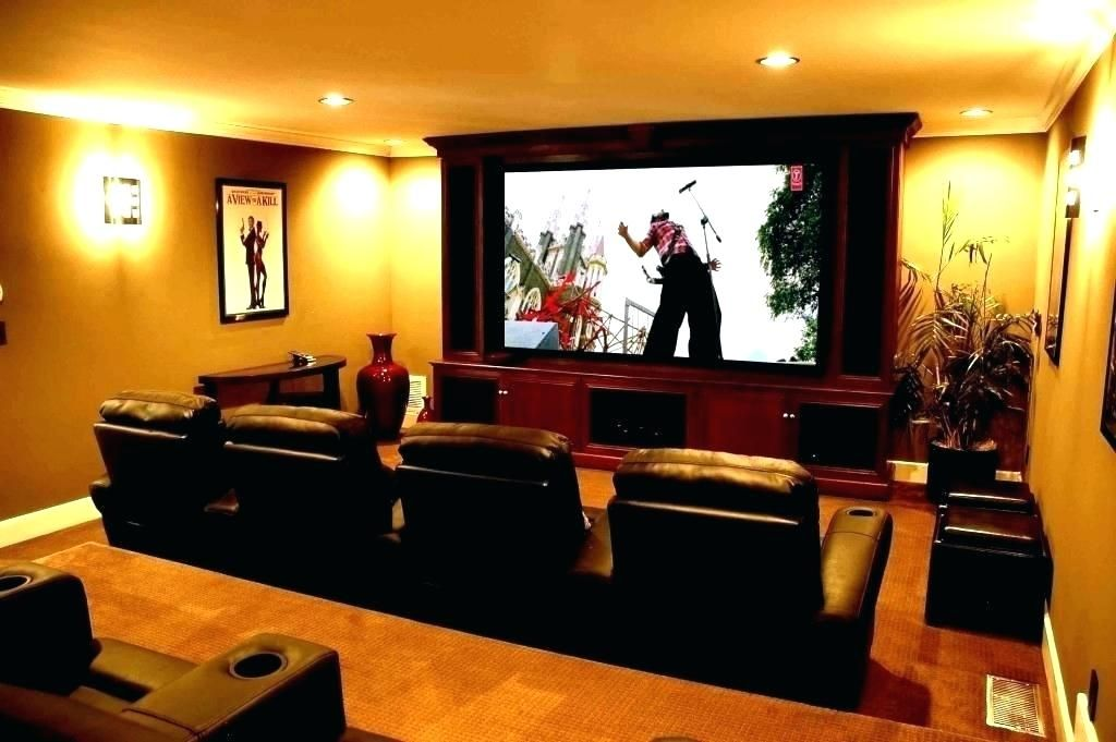 Home Theater Room Decorating Ideas Furniture In House Medium Images Of Astonishing Movie