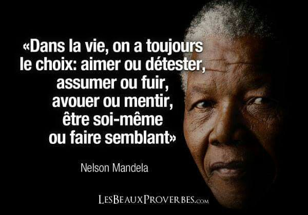 Franch Quotes Citation Nelson Mandela French Quotes Quote