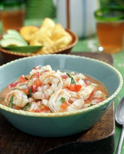 Weight Watchers Recipes • Shrimp Ceviche (4 WW points)