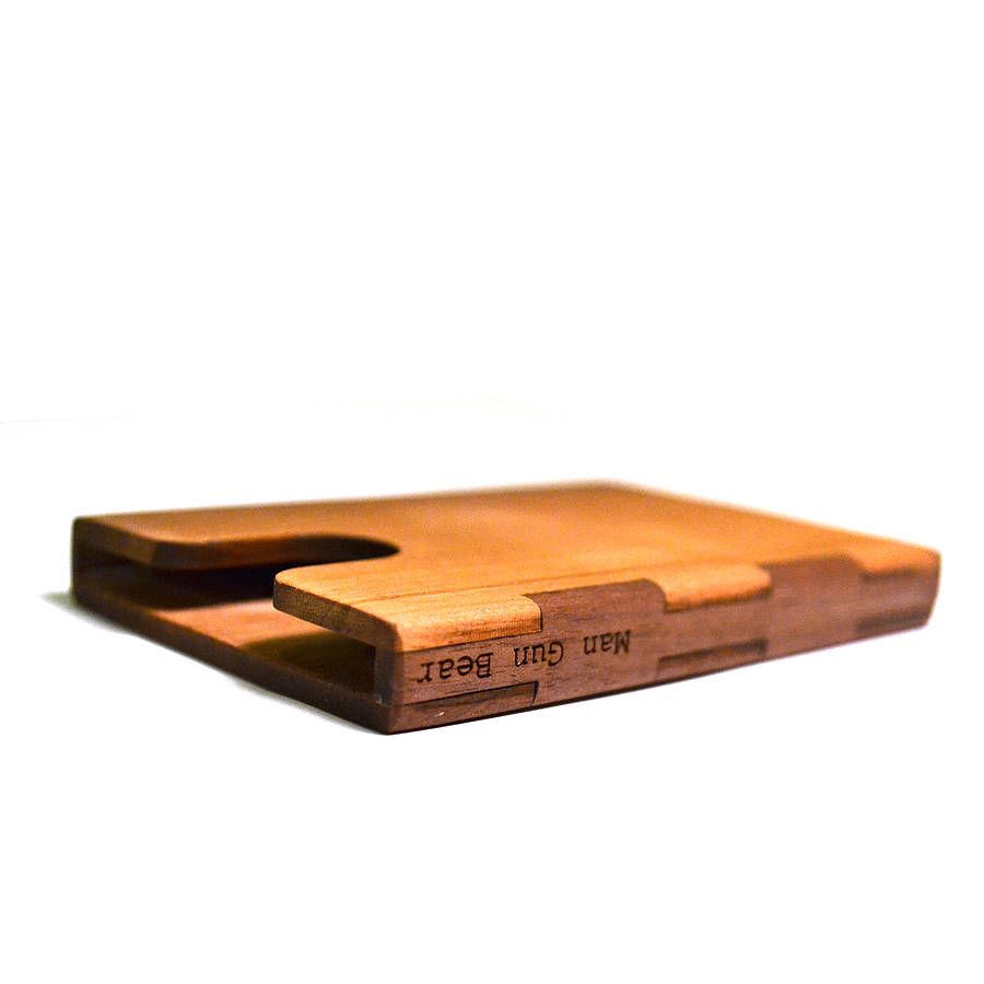 Wooden Business Card Holder By Mgb | Business card holders, Business ...
