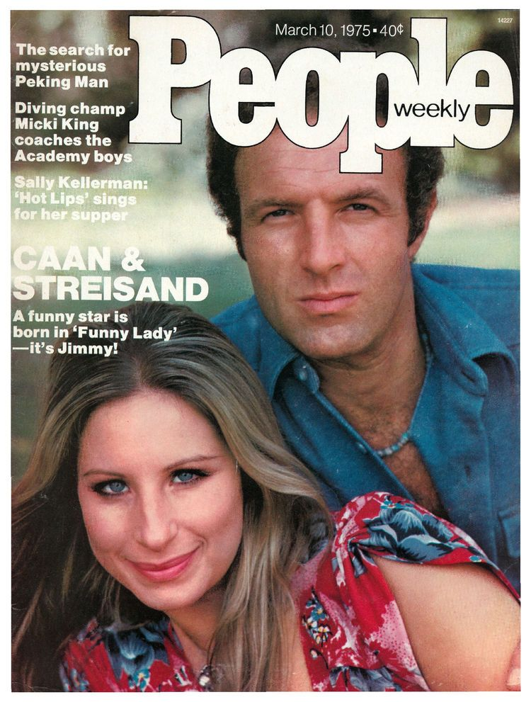 Barbra Streisand James Caan On The Cover Of People Magazine