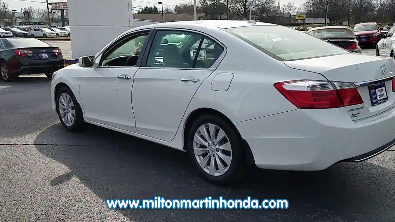 USED 2014 Honda ACCORD 4DR I4 CVT EXL at Milton Martin