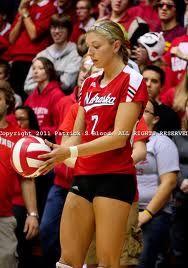 3 Nebraska Volleyball Women Volleyball Volleyball Inspiration Female Volleyball Players