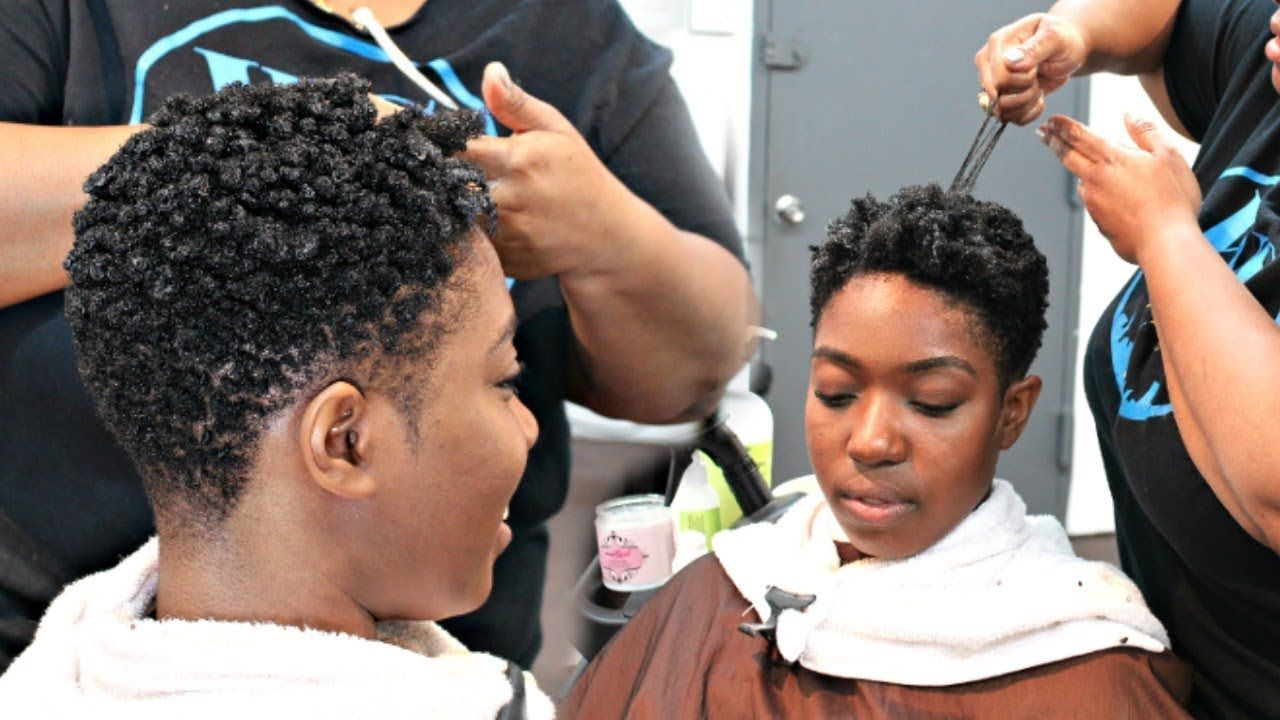 Salon Visit Curl Defining Set On 4c Hair Ep 2 Youtube With