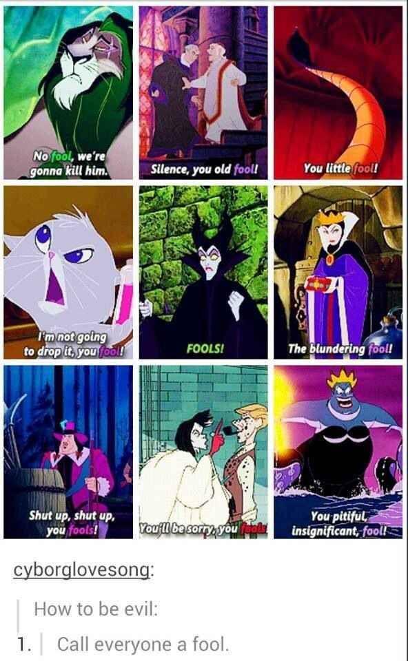 A Reminder That Disney Villains Are Better Than All Disney Princesses