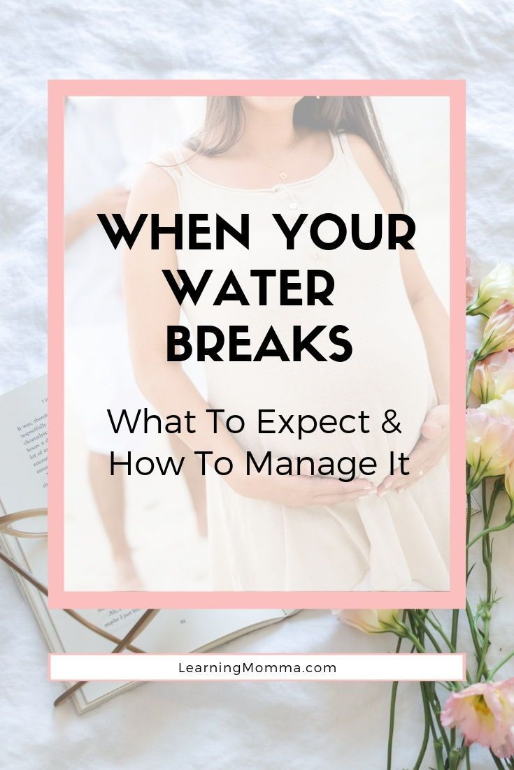 Photo of What Happens When Your Water Breaks & How To Manage It