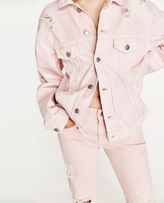 185ecb2c Image 2 of PINK DENIM JACKET from Zara | Put It On My Body | Pink ...