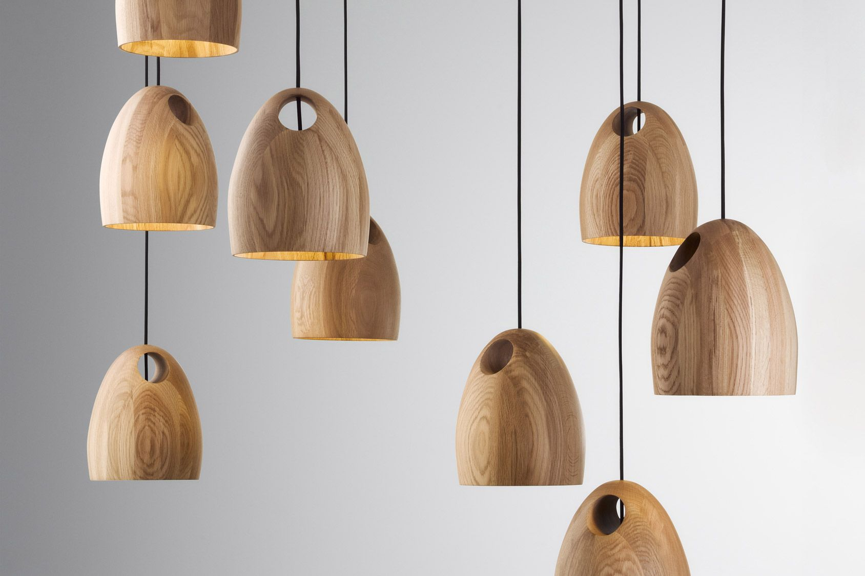 The new oak pendant light from australian designer ross gardam is the new oak pendant light from australian designer ross gardam is hand turned mozeypictures Image collections