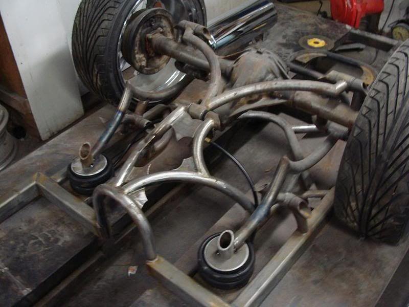 air bag suspension for low rider