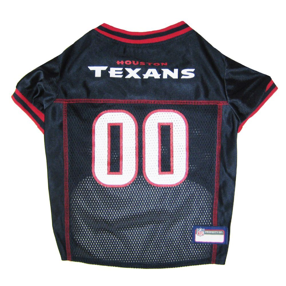 buy online 7dd54 b35f7 Houston Texans NFL Jersey size: X Small, Blue, Pets First ...