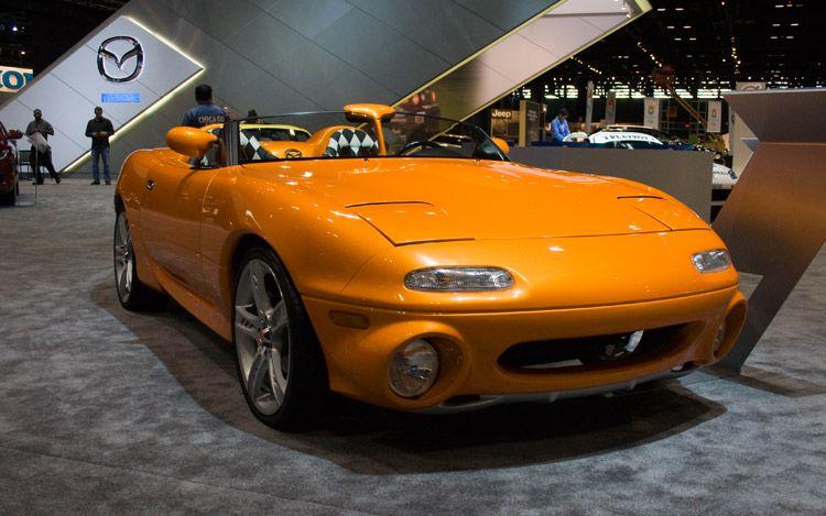 Mazda Celebrates 20 Years of the MX5 Miata at Chicago