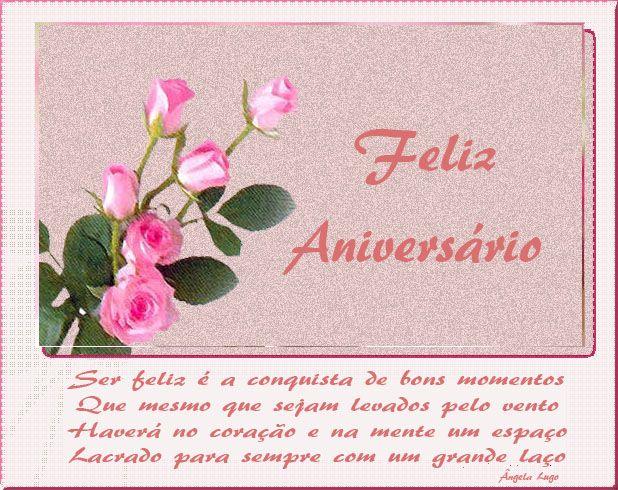 Feliz Aniversario Imagenes: Imagens De Feliz Aniversario Com Flores Para Face