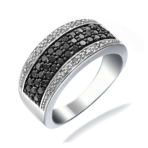 save 34901 on 34 ct black white diamond ring available in sizes 5