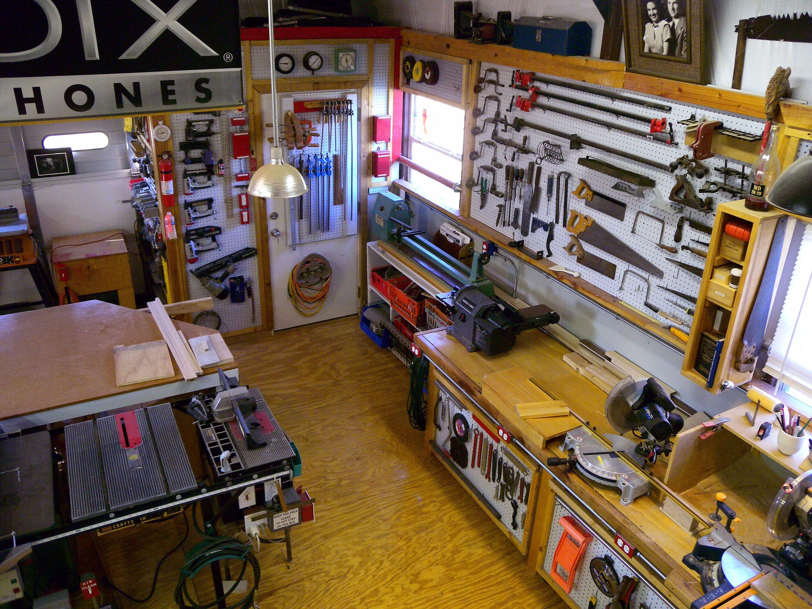 2012 Apr Workshop Woodshop Wood Shop Garage Workshop Plans Hobby Storage