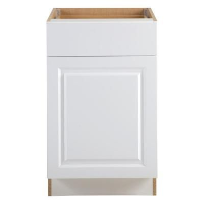 Best Benton Base Cabinets In White – Kitchen – The Home Depot 400 x 300