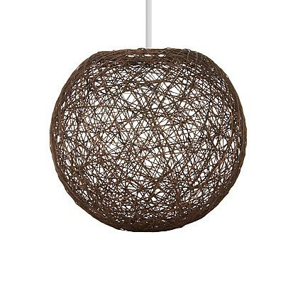 George Home Dark Brown String Ball Pendant | Home & Garden | George ...