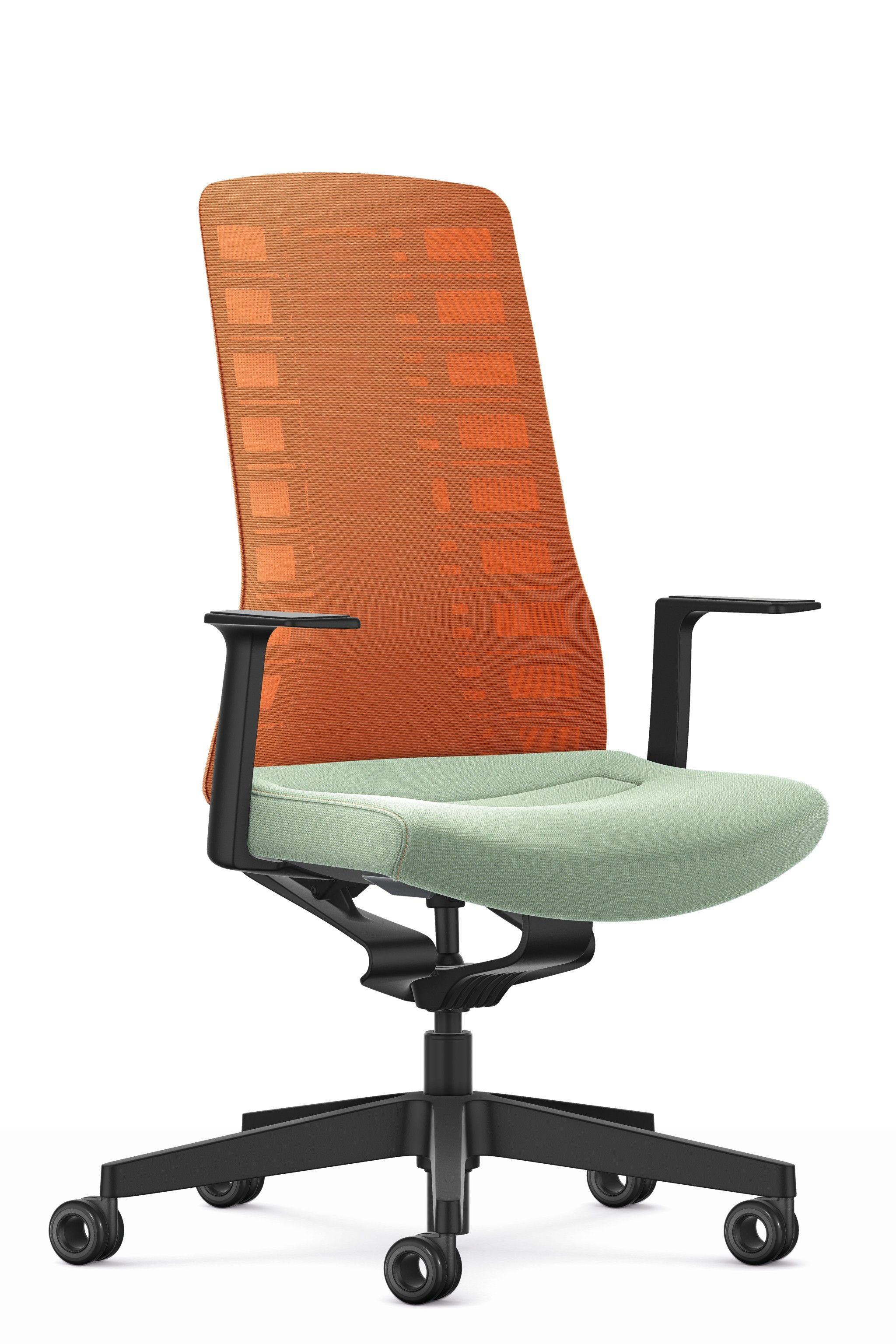 Schreibtischstuhl Orange Mint Pure Active Edition Burostuhl Von Interstuhl Burostuhl Burostuhl Ergonomisch Home Office