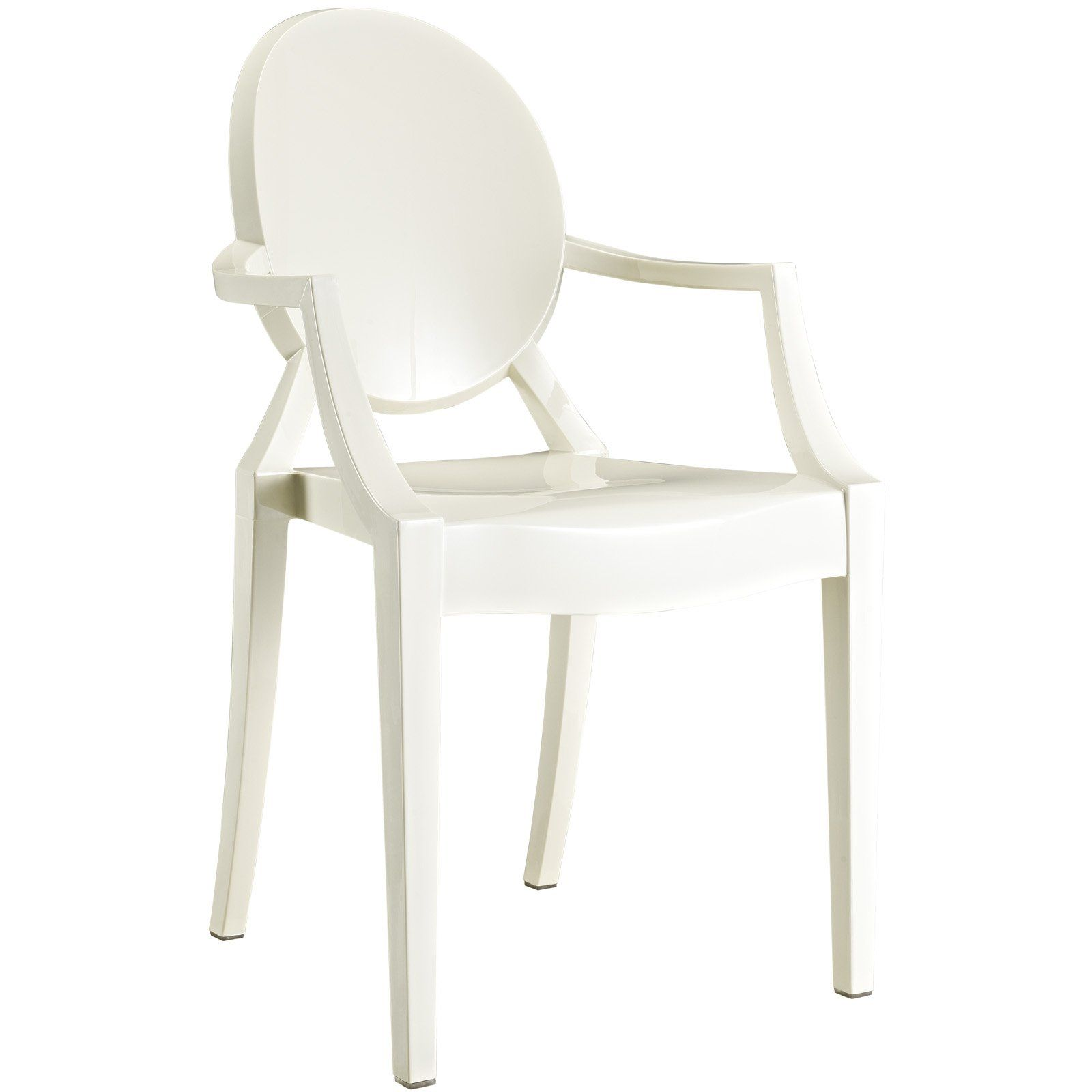 Casper Dining Armchair In Clear Chairs Could Also So Or Smoke With Teak Table