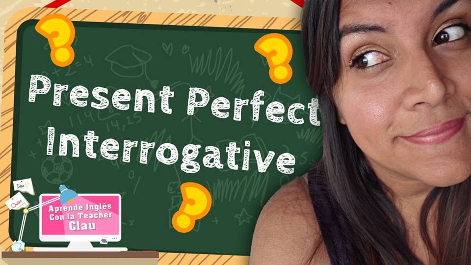 Para completar la trilogía del Present Perfect hoy te traigo la version Interrogativa! No te lo pierdas! Mira el video aqui: https://youtu.be/-hrpDVvXZr4