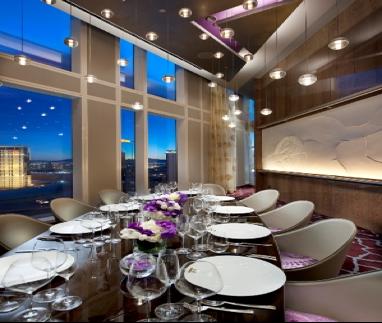 Private Dining Rooms In Las Vegas Intimate Settings Haute 5 Private Dining Rooms In Las Vegas