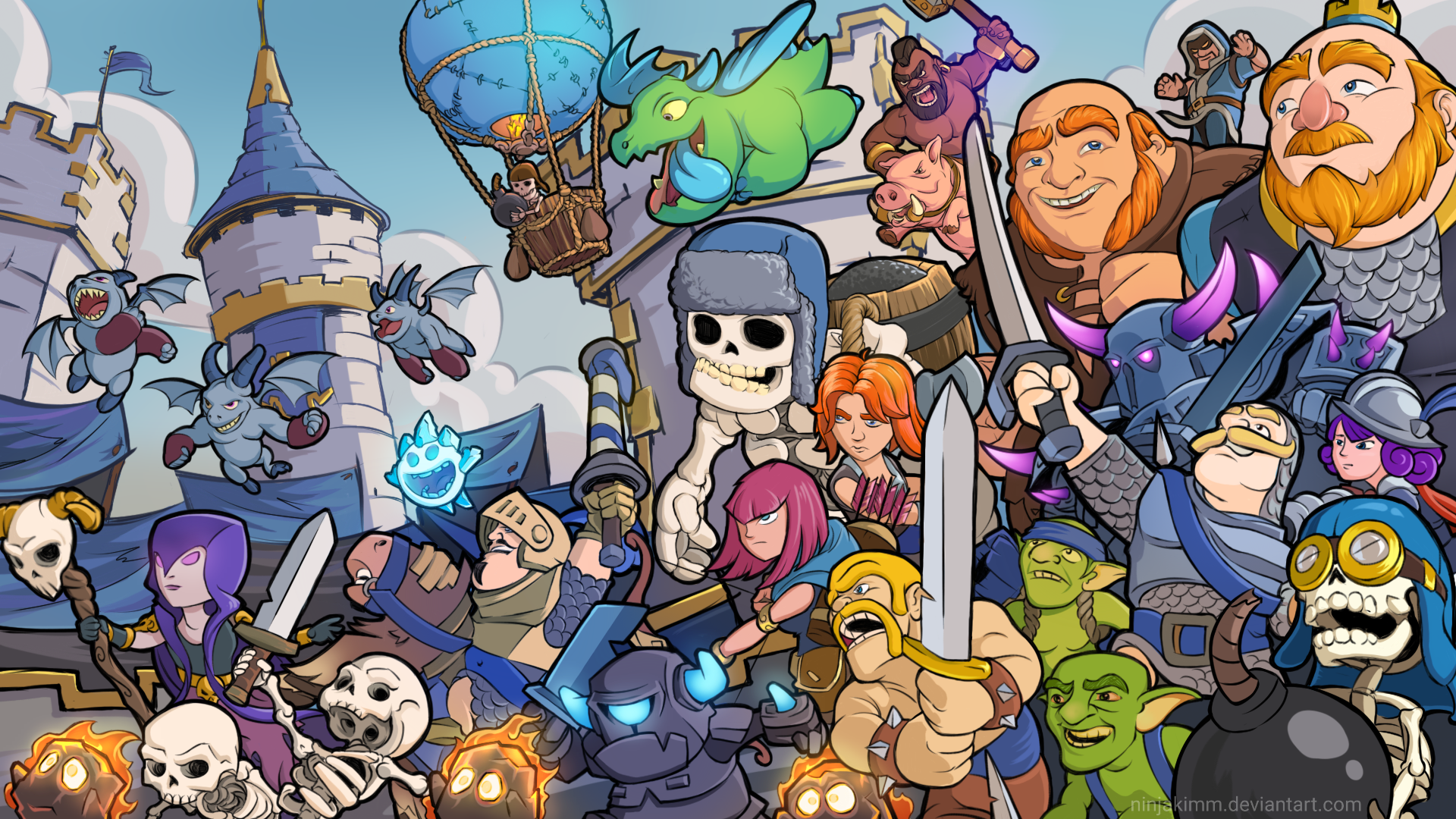 Pin By Laure Vidalenche On Basile Clash Royale Dibujos Clash