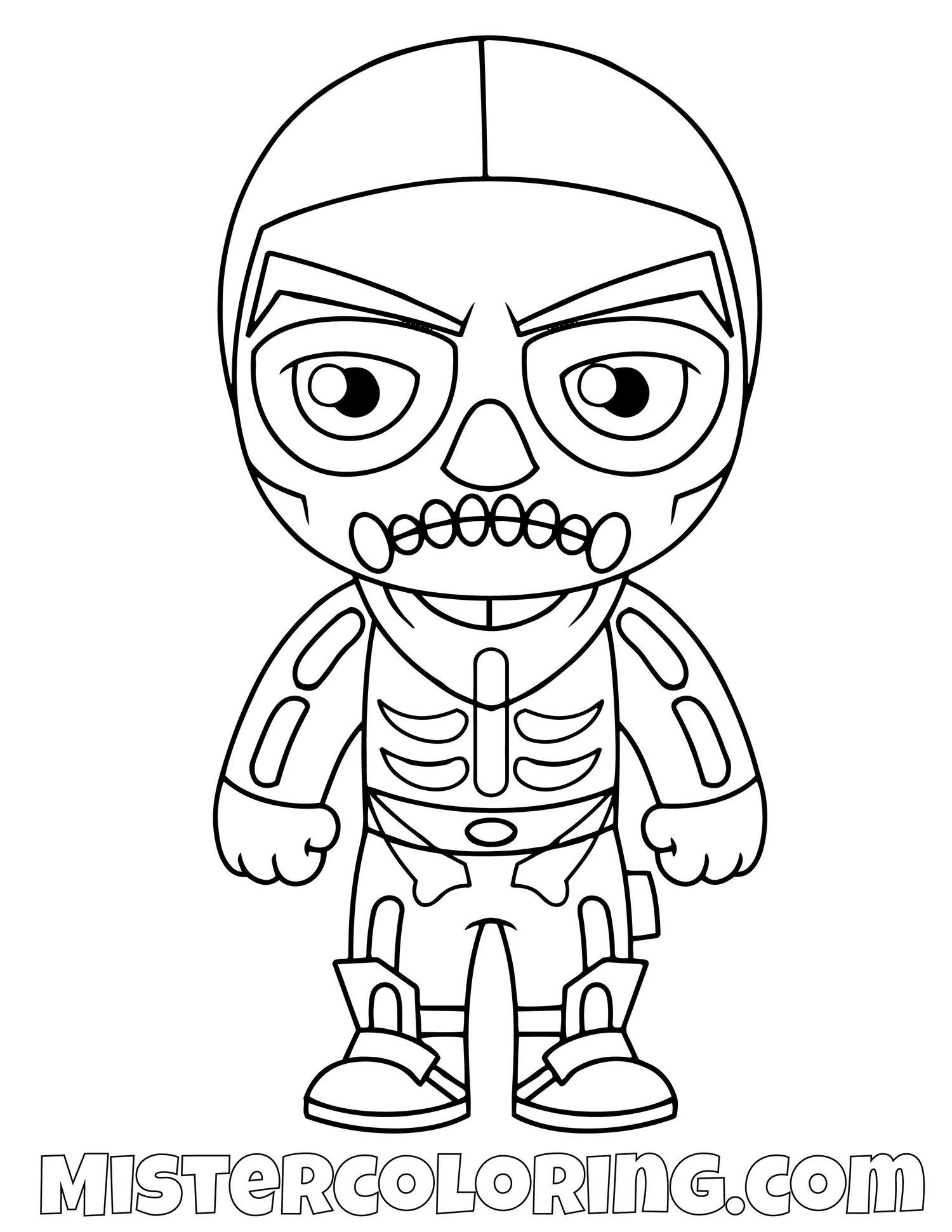 Fortnite Raptor Coloring Page Cartoon Coloring Pages