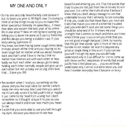One year anniversary ♡♡ Bradley & Destiny♡♡♡♡ #cutetextmessages #boyfriend #love #hearts #life