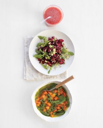 Want to recommit to healthier eating?Try our three-day clean eating menu, Wholeliving.com #detox