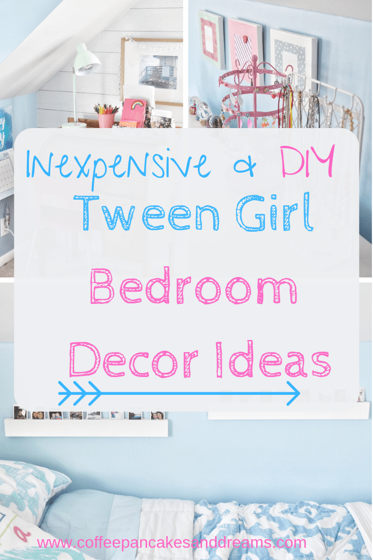 Tween Girl DIY Bedroom Decor Ideas images
