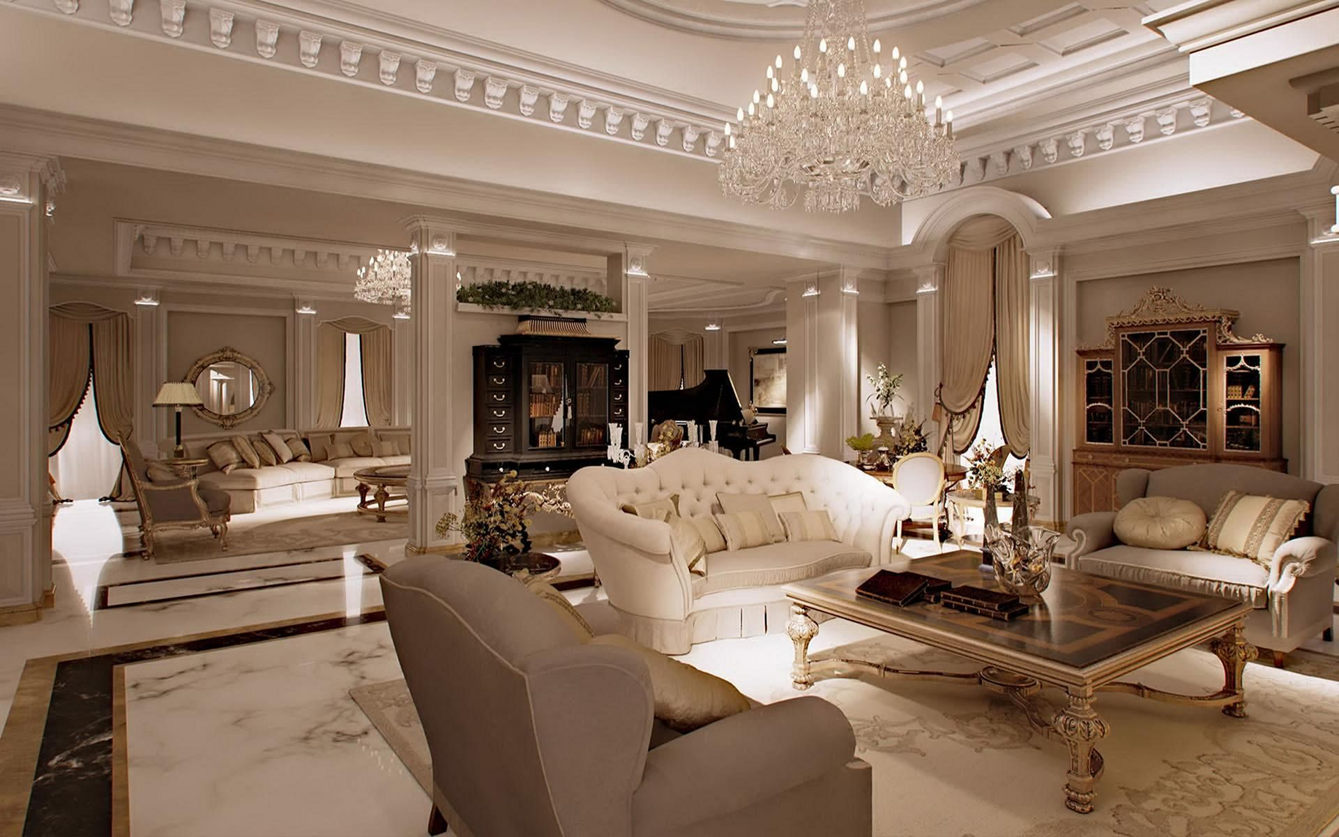 14 Comfortable Luxury Living Room Design Ideas That Will ...