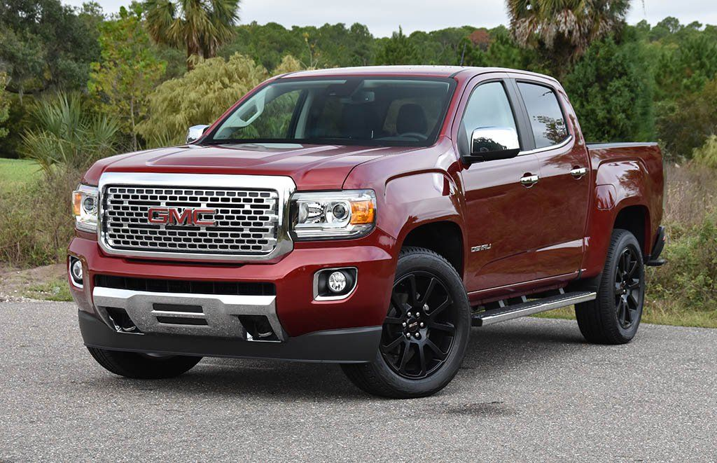 2019 Gmc Canyon Denali 4wd Crew Cab Review Test Drive Gmc